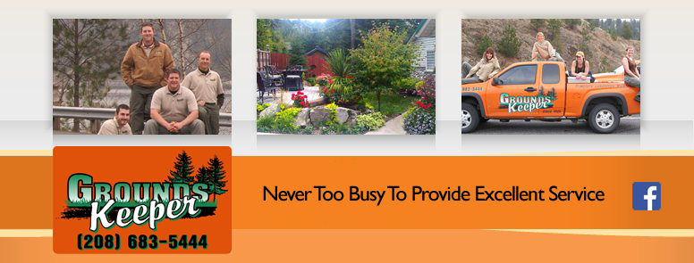 GroundsKeeper, Inc - NEVER TOO BUSY TO PROVIDE EXCELLENT SERVICE